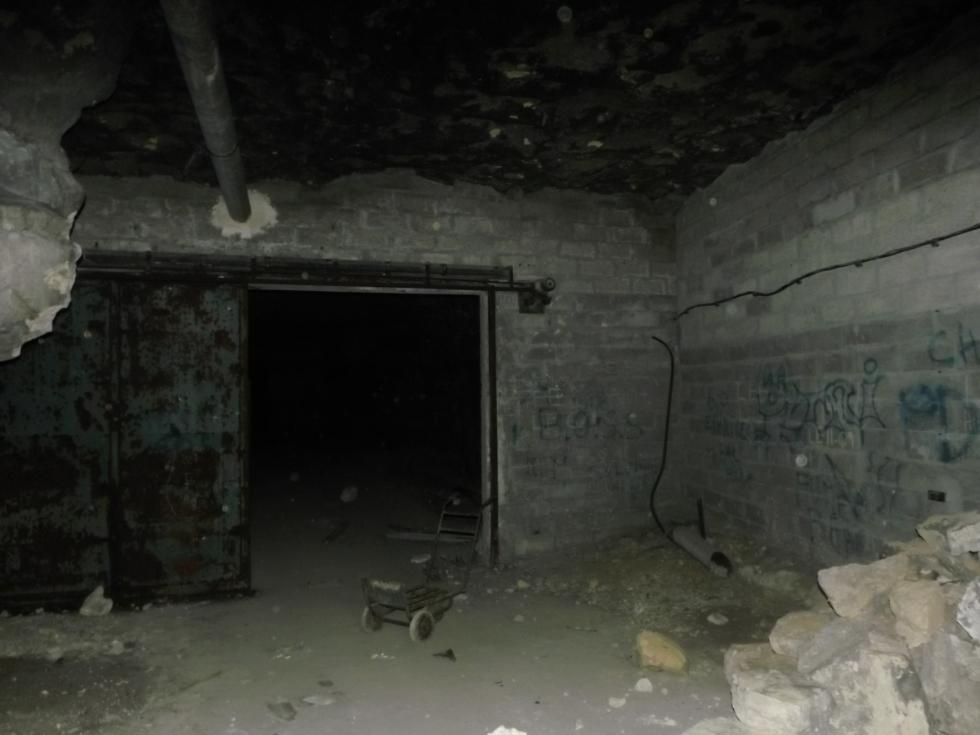 L'entrée vers les ténèbres